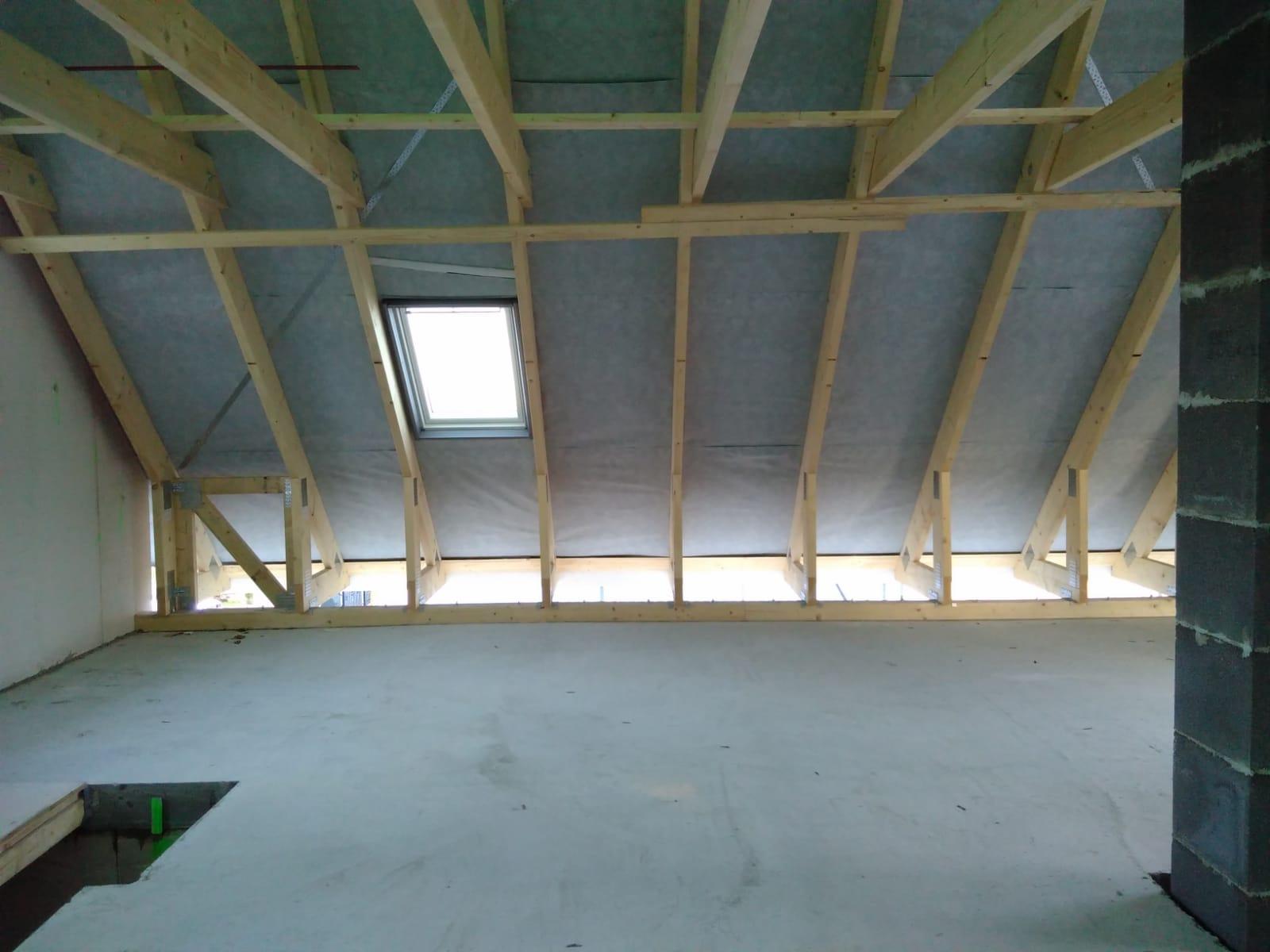 Dach von innen